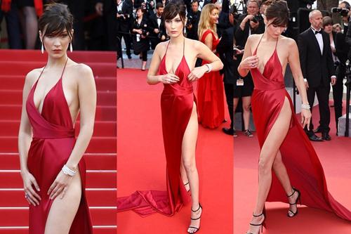 Chiếc váy khiến bella hadid cảm giác sợ hãi khi mặc