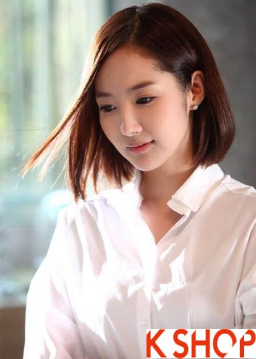 Top 6 kiểu tóc ngắn ngang vai uốn xoăn xu hướng hiện nay