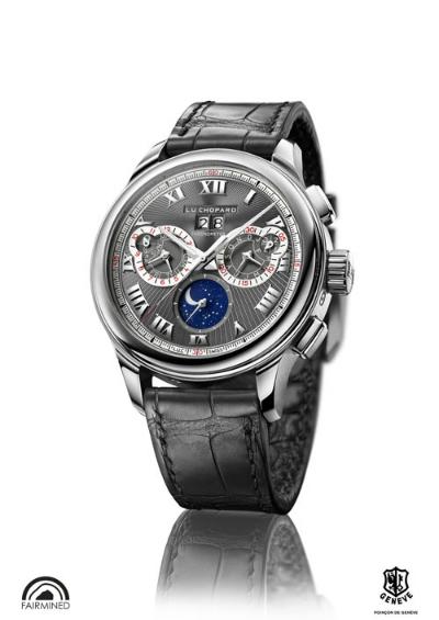 Ngắm đồng hồ luc perpetual chrono bằng vàng nguyên khối