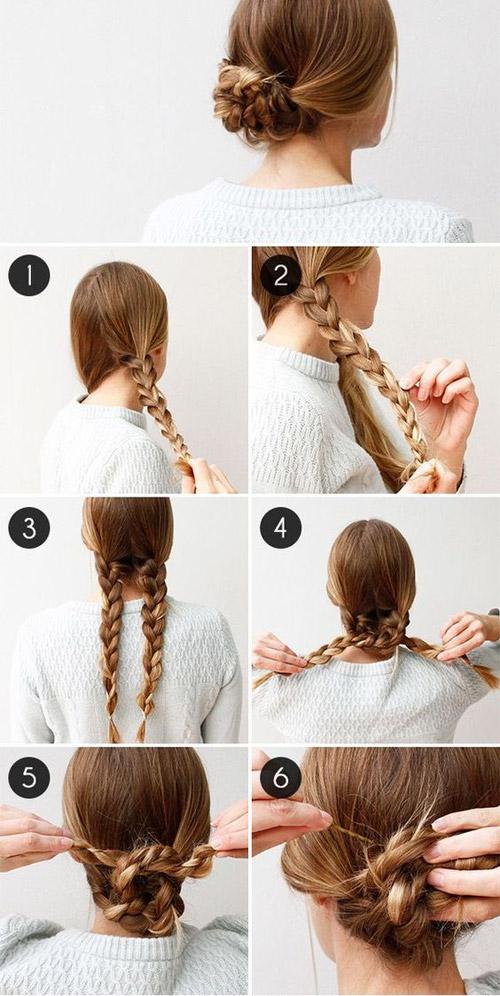 Những mẫu tóc búi mùa hè cho chị em u30 ăn gian tuổi