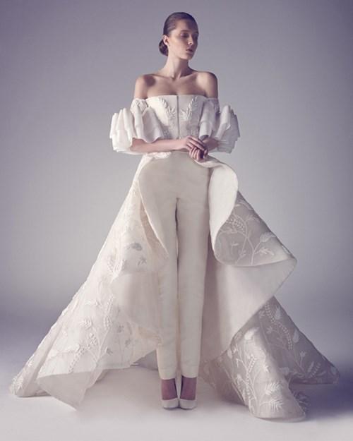 Những mẫu váy cưới khiến mọi cô gái phải ao ước