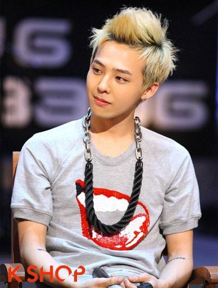 10 kiểu tóc khẳng định cá tính của g-dragon