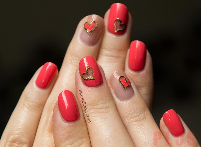 13 mẫu nail đỏ hồng tuyệt đẹp bắt mắt