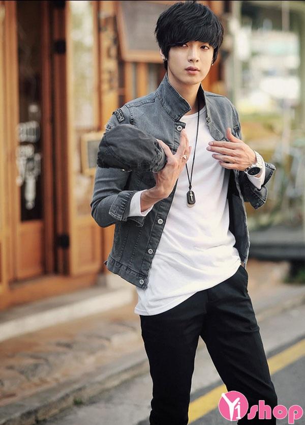 5 kiểu áo khoác nam thanh lịch cho chàng
