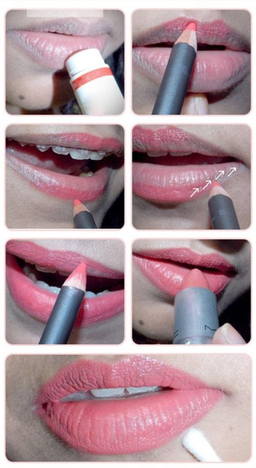 8 cách đánh môi đẹp hoàn hảo bạn gái nên thử
