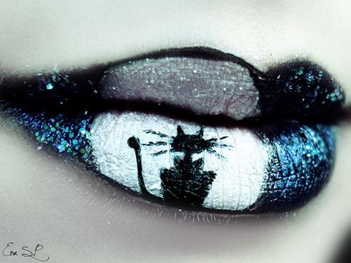 9 cách vẽ môi đẹp cho đêm halloween ấn tượng nhất