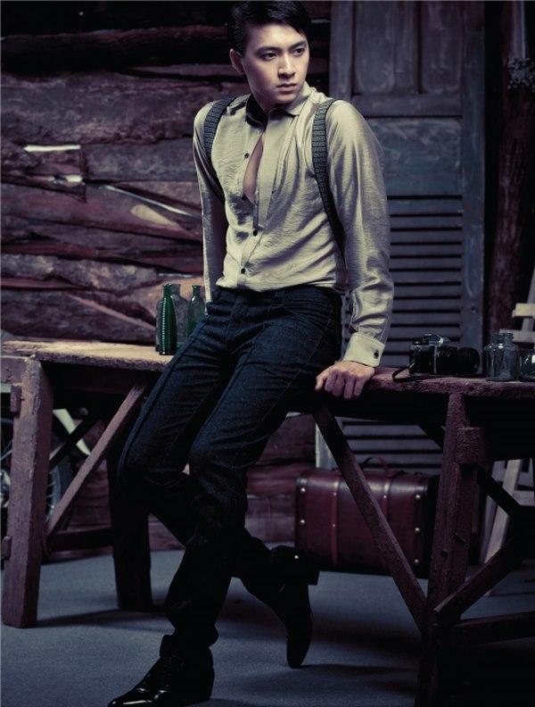 Áo sơ mi nam phong cách retro cực đẹp