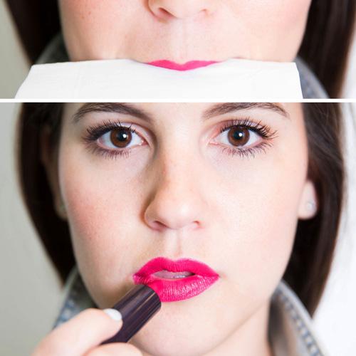 Bí quyết hay giúp tô son đẹp cho cô nàng nghiện son môi