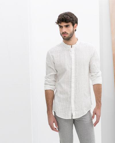 Bí quyết phối áo sơ mi nam công sở trắng đẹp cho các chàng