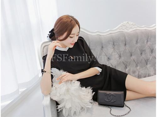 Bst váy đầm đẹp liền thân tinh tế cho nàng cuốn hút ngày hè