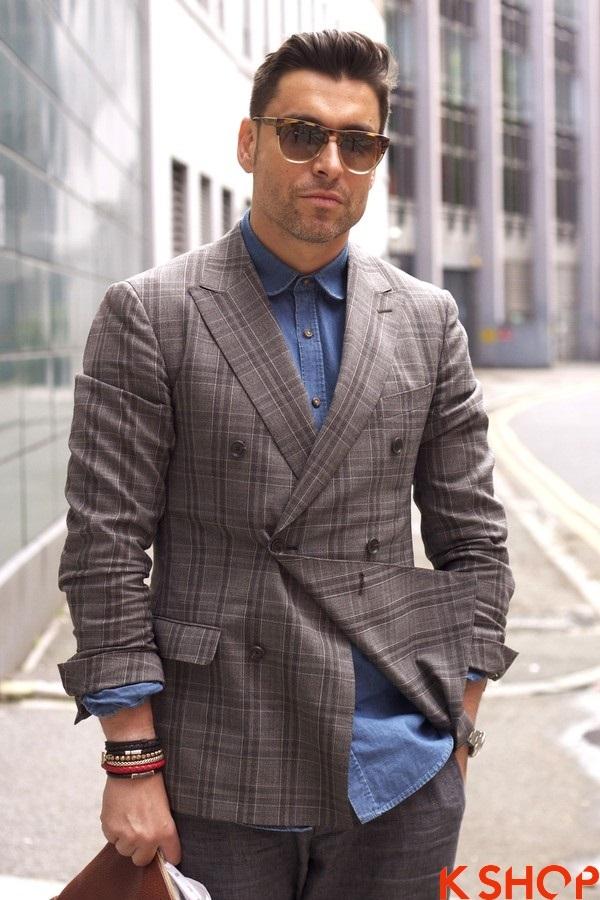 Hướng dẫn phối áo sơ mi nam denim đẹp cho phái mạnh phong cách bụi bặm