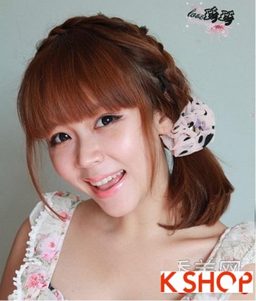 Cách tạo 2 kiểu tóc cực đẹp đơn giản cho bạn gái