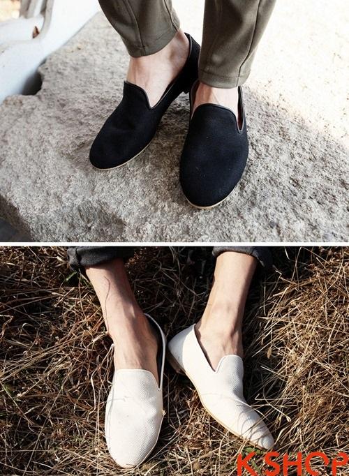 Giày lười nam gucci tiện dụng trẻ trung cho chàng