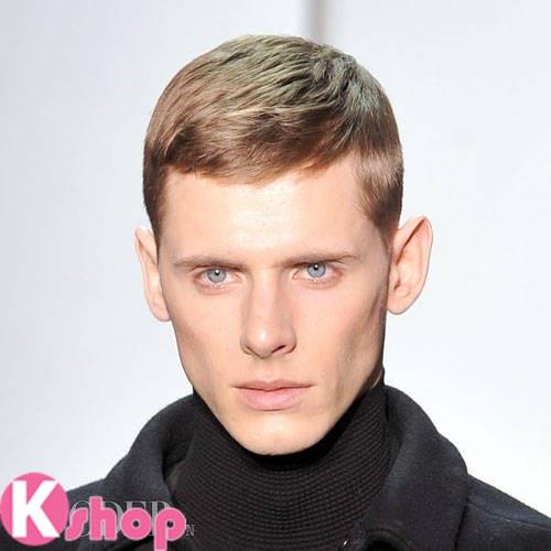 Mẫu tóc ngắn đẹp gọn gàng cá tính cho nam giới