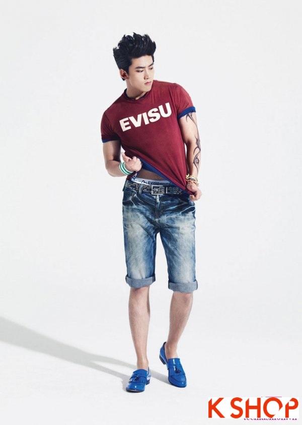 Cách phối quần jean nam đẹp trẻ trung cá tính hè 2017