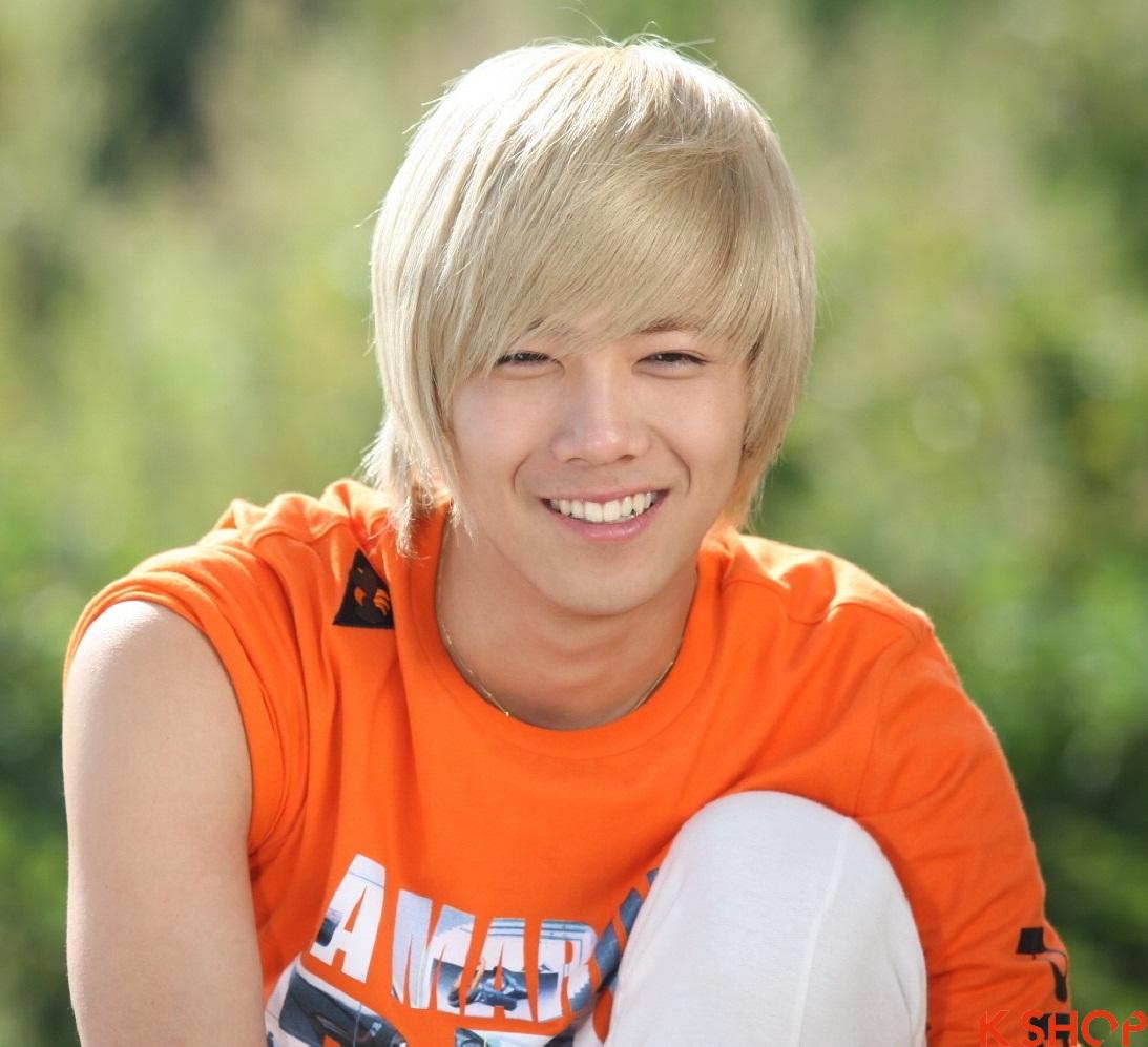 Những kiểu tóc nam sành điệu của sao kpop