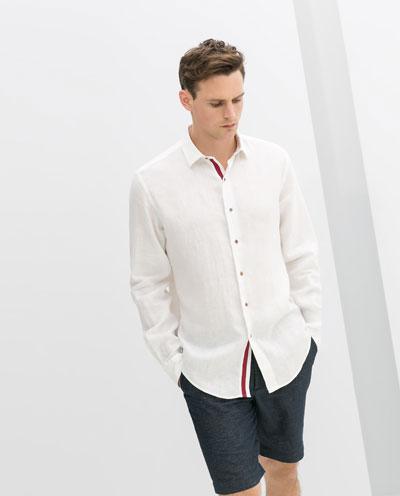 Đúng chuẩn soái ca với áo sơ mi nam trắng công sở