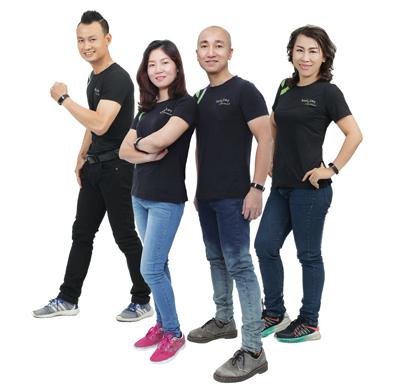 Tuyệt chiêu giảm cân của 4 doanh nhân trẻ