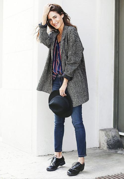 Diện quần jeans đơn giản mà đẹp như tín đồ thời trang thế giới
