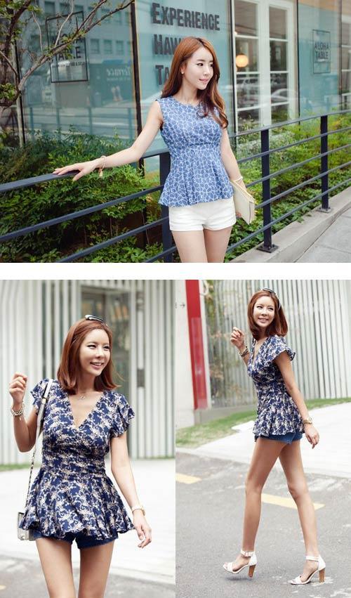 Quần short nữ đẹp trẻ trung năng động cho bạn gái đón hè 2017