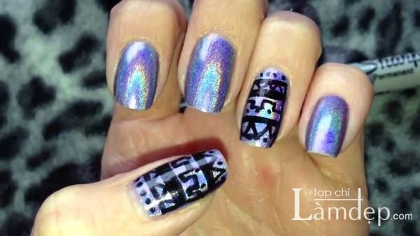 19 mẫu nail đẹp họa tiết ấn tượng cho đôi tay ngọc ngà của nàng