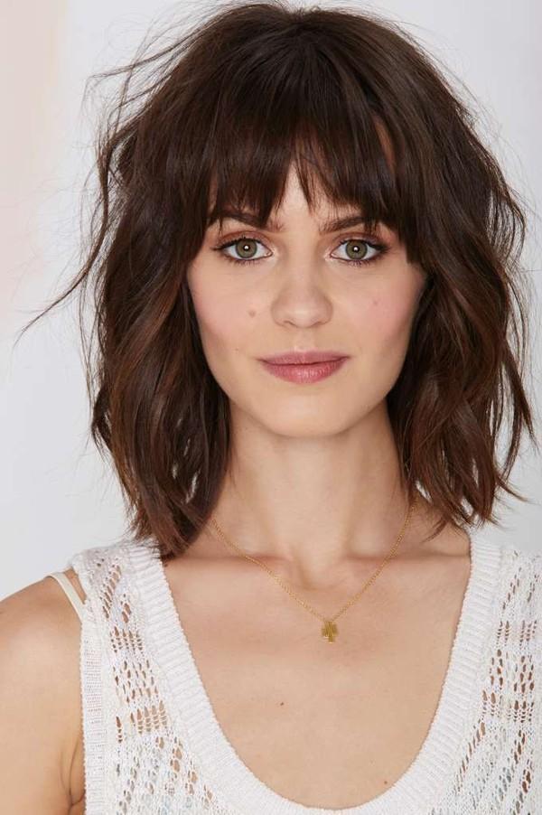 5 kiểu tóc mái cuốn hút 2017 dành riêng cho phái đẹp