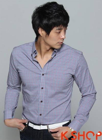 Lịch lãm mạnh mẽ với áo sơ mi nam phong cách hàn quốc