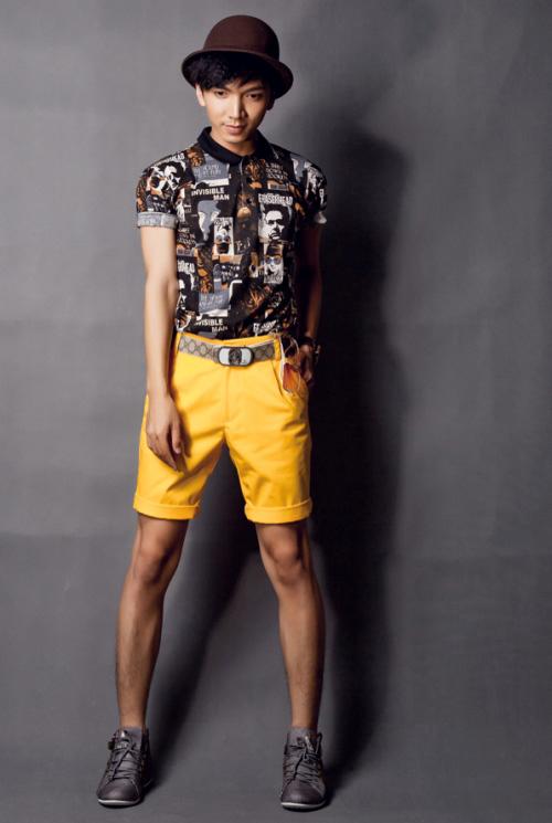 Mix áo thun ba lỗ nam đẹp với sơ mi cá tính sành điệu hè 2017