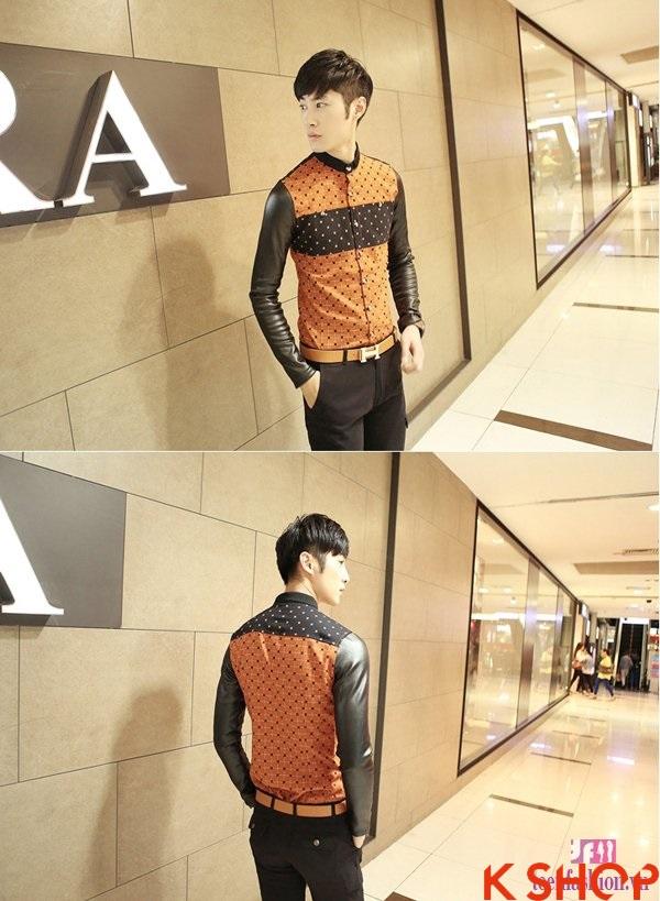 Những áo sơ mi nam dài tay cho chàng thanh lịch dạo phố 2017