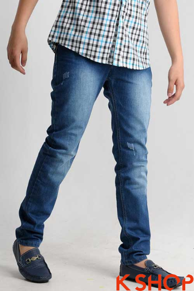 Quần jeans nam đẹp hè cho bạn trai phong cách hè 2017