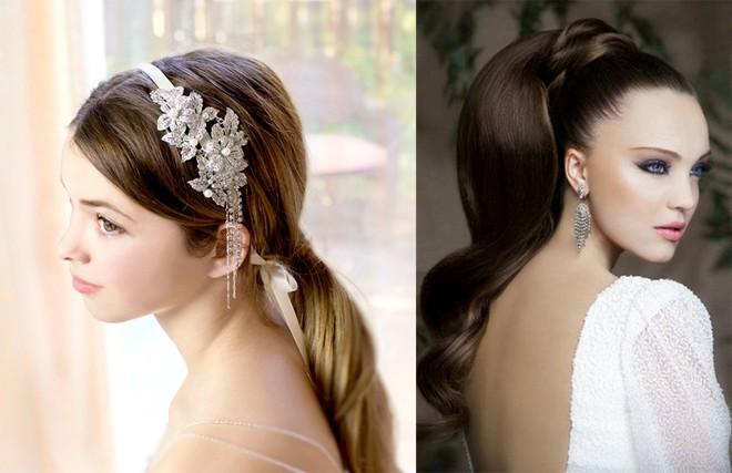 6 kiểu tóc buông dài đẹp 2017 cho cô dâu ngọt ngào ngày cưới