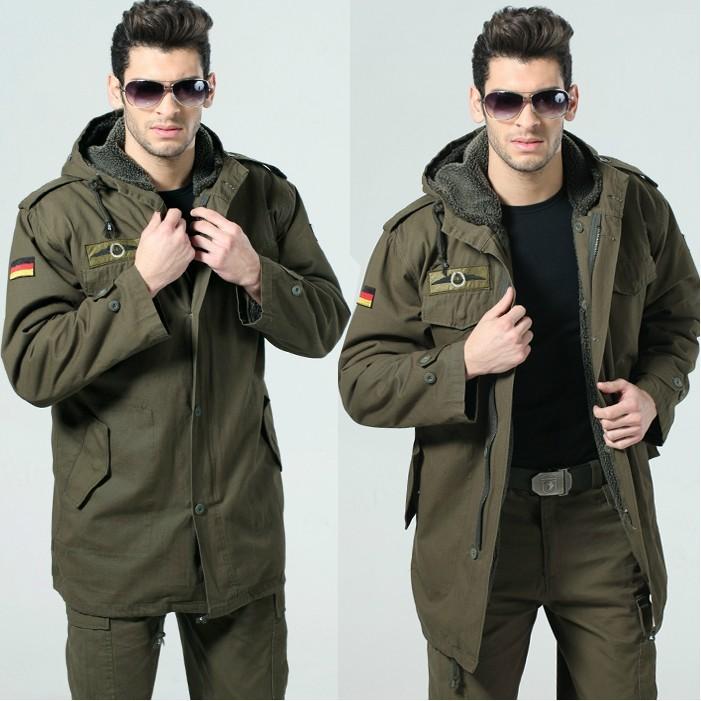 Áo khoác nam kiểu quân đội cá tính phong trần cho chàng