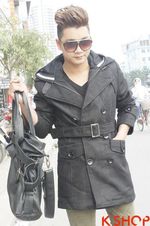 Áo khoác phao măng tô hãng hummer với kiểu dáng mới lạ
