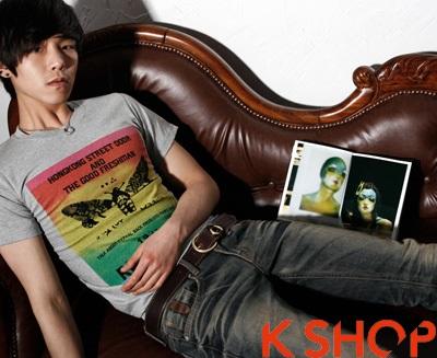 Thời trang Áo phông nam in hình đẹp cho bạn trai
