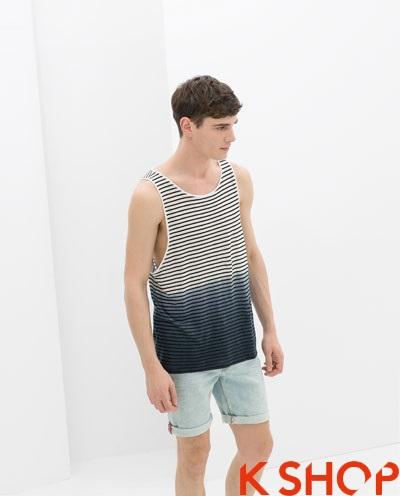 Áo tanktop nam cá tính năng động cho bạn trai xu hướng