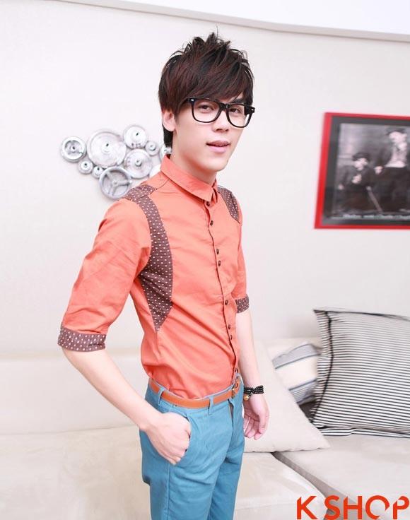 Bst áo sơ mi nam thanh lịch với nhiều màu sắc nổi bật
