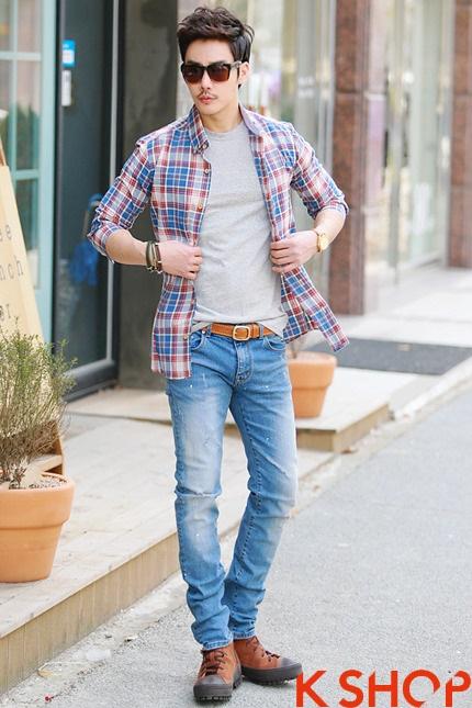 Cho chàng teen boy năng động với áo sơ mi nam được mix độc đáo