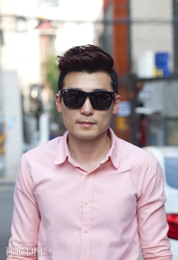 Kiểu tóc nam undercut vuốt ngược đẹp phong trần cá tính 2017