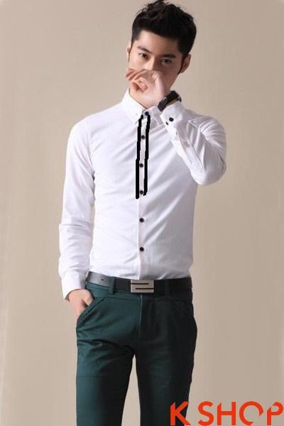 Trẻ trung năng động khỏe khoắn với áo sơ mi nam phong cách hàn