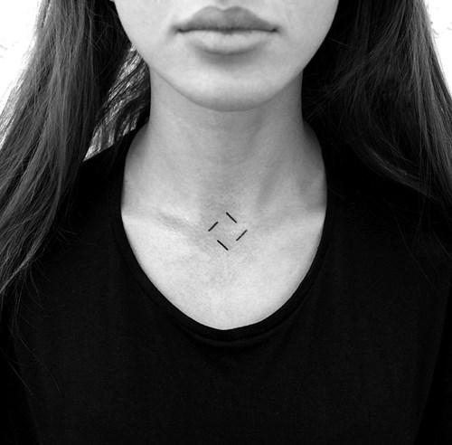 Ý tưởng hình xăm dị và chất cho các tín đồ mê phong cách minimalis