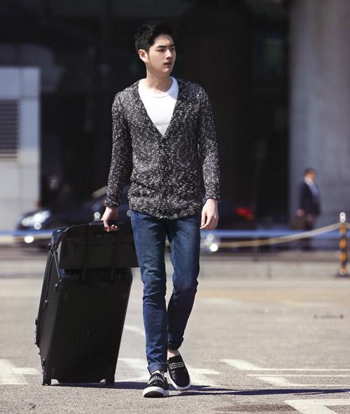 Áo khoác nam cardigan kiểu ấm áp ngày lạnh 2017