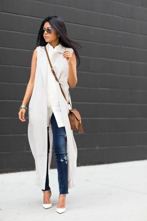 Bí quyết diện áo dáng dài sẽ khiến bạn ngơ ngẩn vì quá đẹp