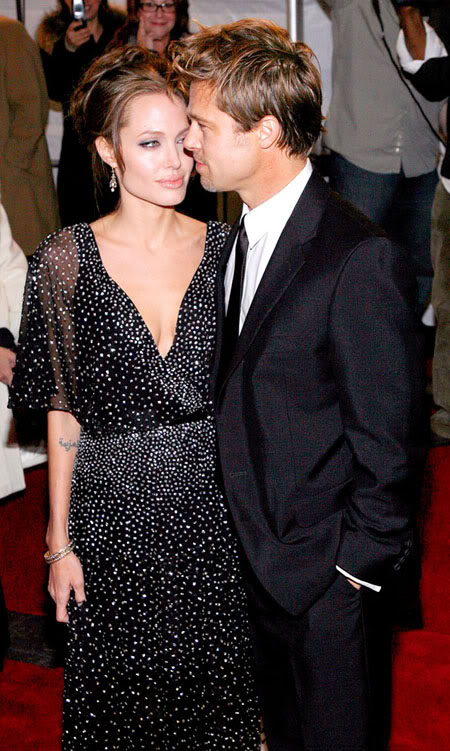Brad pitt - angelina jolie đã từng là biểu tượng thời trang hollywood