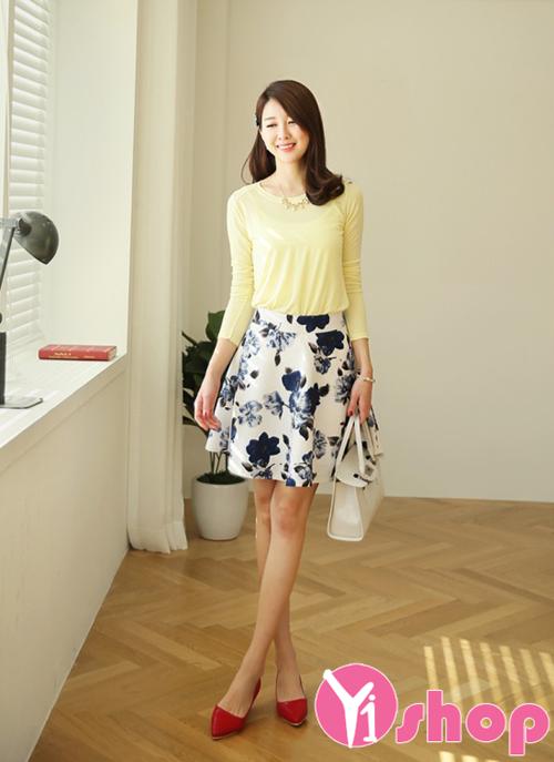 Chân váy đầm chữ a phù hợp mọi vóc dáng