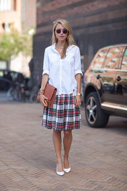 Kiểu áo sơ mi nữ trắng thiết kế mới nhất hiện nay hè 2017