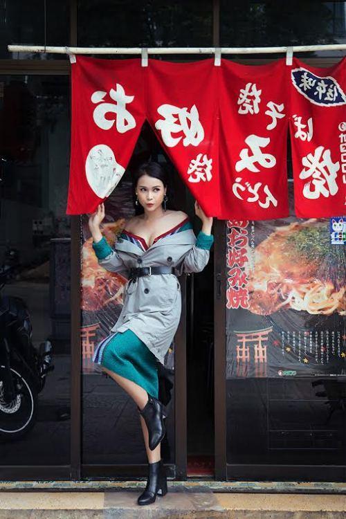 Những set đồ cực nổi bật khi xuống phố của hot girl sam