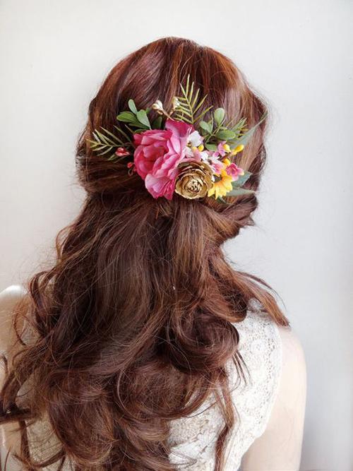 Đây chính là xu hướng tóc hot nhất mùa cưới 2018