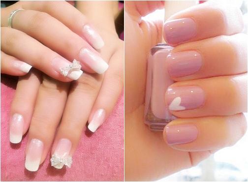 Gây sốt với kiểu nail màu pastel đẹp nhẹ nhàng cho cô dâu quyến rũ