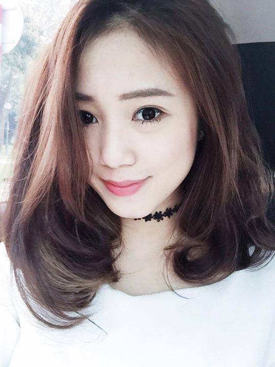 Kiểu tóc ngang vai uốn cụp cho nàng trẻ trung quyến rũ