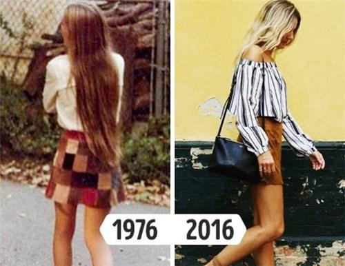 Những trang phục các cô gái có thể khai quật từ tủ đồ của mẹ